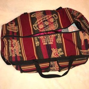 Handbags - Peruvian Inca Aztec Duffle bag